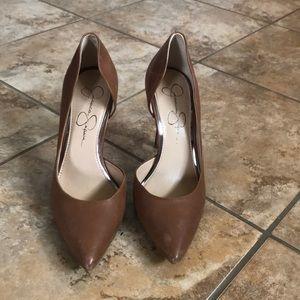 Brown Jessica Simpson heels – size 7
